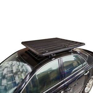 Extra Thick Aluminium Alloy Heavy Duty Roof Rack Flat Platform Universal Carrier Cargo Luggage Basket 160x100cm