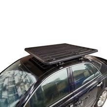 Load image into Gallery viewer, Extra Thick Aluminium Alloy Heavy Duty Roof Rack Flat Platform Universal Carrier Cargo Luggage Basket 140x100cm
