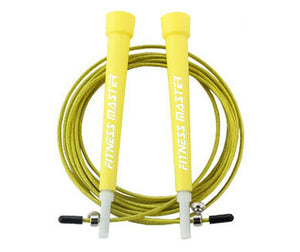 3M Adjustable Steel Skipping Ropes Jump Cardio Exercise MMA GYM Boxing Speed