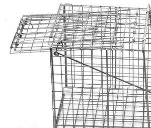 10inch Foldable Live Animal Trap Possum Feral Cat Rabbit Bird Animal Dog Hare Fox Cage  Humane Catch