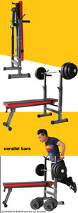Multi-Station Foldable Bench Press Incline Home GYM Fitness Olyimpic Weights Station