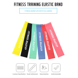 6PCS Resistance Loop Bands Mini Band Exercise Crossfit Strength Fitness GYM Yoga