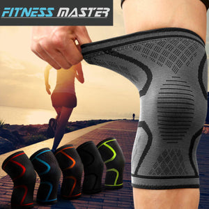 Knee Support Brace Compression Sleeve Arthritis Pad Pain Relief Gym Sports