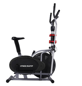 6in1 Elliptical Cross Trainer Exercise Bike Bicycle Home Gym Fitness with Twist Disc