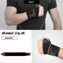 Load image into Gallery viewer, Wrist Support Compression Wrap Strap Thumb Hand Brace Tunnel Protector Carpal