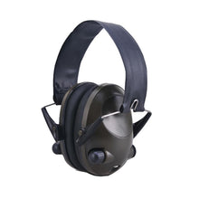 Load image into Gallery viewer, Hunting GREEN Shooting Electronic Noise Reduction Earmuffs Input Jack Ear Muffs