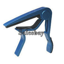 Load image into Gallery viewer, Aluminum Guitar Capo Spring Trigger Electric Acoustic Clamp Quick Change Release