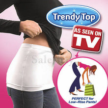 Load image into Gallery viewer, Trendy Top T - Layering Tee Back Wrap Hip White Black Two Colour S/M/XL Size