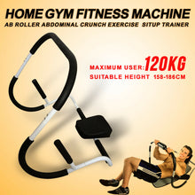 Load image into Gallery viewer, Home Gym Fitness AB Roller Abdominal Crunch Exercise Machine Situp Trainer