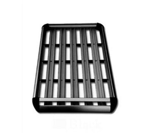 140*100 Black Double Aluminium AlloySUV 4x4 Roof Rack Basket Cargo Luggage Carrier Box