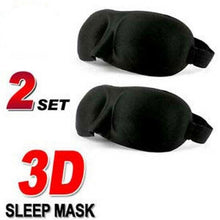 Load image into Gallery viewer, Sleeping Travel  Eye Mask Blindfold Sleep 3D Light Blinder Shade Relax Cover