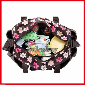 Colorland 3 Pcs Large Mummy Baby Diaper Bag  Nappy Bag changing Bag Organizer