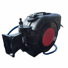 Load image into Gallery viewer, Wall Mountable 30M Air Hose Reel Auto Rewind Retractable 261PSI