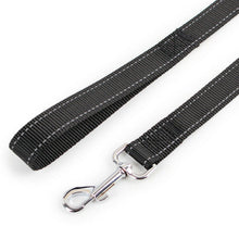 Load image into Gallery viewer, 1.2m Strong Nylon Pet DOG LEAD Leash Cat Training Collar Black
