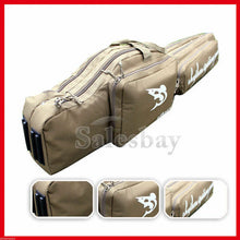 Load image into Gallery viewer, Adjustable 1.2m Hunting Shooting Carry Case Shotgun Rifle Gun Sip Double Bag Tan