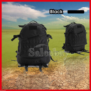 Hiking Utility 3D Outdoor MOLLE Military Tactical Rucksack Backpack Camping Bag