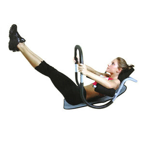 Home Gym Fitness AB Roller Abdominal Crunch Exercise Machine Situp Trainer