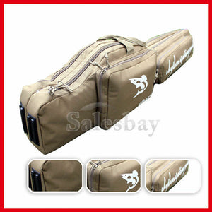 Hunting 1.2m Shooting Carry Case Shotgun Rifle Gun Slip Double Bag