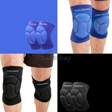 Load image into Gallery viewer, 2x Knee Pad Crashproof Antislip Brace Leg Sleeve Protector Guard Support Gear