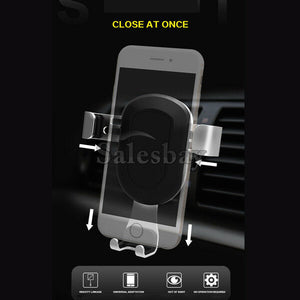 360° Universal Phone Holder Car Windshield Mobile Mount Gravity Galaxy GPS