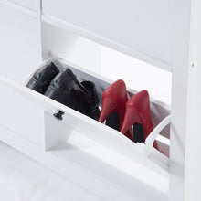 Load image into Gallery viewer, Multi Styles Shoe Cabinet Organizer Storage Wooden Rack Shelf Box Drawer