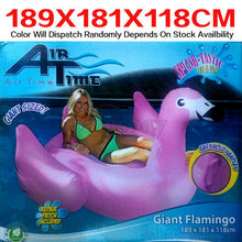 Load image into Gallery viewer, Airtime Inflatable Inflate Pool Toy Giant Flamingo  189X181X118cm