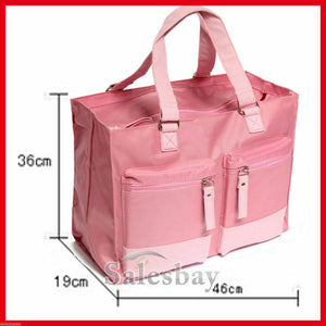 Baby Kingdom Mummy Bag Nappy Travel Handbag Changing Diaper Pink Color