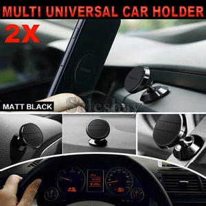 360° Universal Car Holder Mount Cradle Magnetic  iPhone Galaxy GPS Mobile Phone