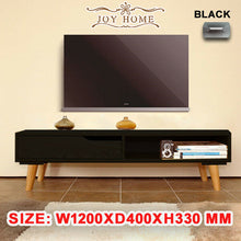 Load image into Gallery viewer, Wooden TV Stand Entertainment Unit 120CM Cabinet Plasma LCD LED Lowline
