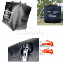Load image into Gallery viewer, Camping 40L Outdoor Solar Heated Water Pipe Camp Solar Shower Bag Portable Bag