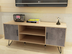 Wooden 120CM TV Stand Cabinet LCD LED Entertainment Unit Storage Shelf Fruniture