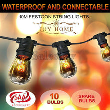 Load image into Gallery viewer, 10-100m Festoon String Lights Light Wedding Party Christmas Waterproof Outdoor