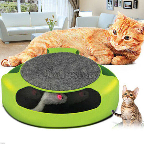 Kitty Teaser Pet Cat Scratcher Scratch Pad Save furniture and file long nails