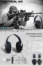 Load image into Gallery viewer, GREEN Shooting Hunting Electronic Noise Reduction Earmuffs Input Jack Ear Muffs