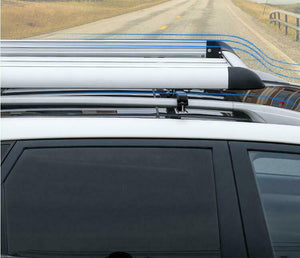 160*100 Black Single Aluminium Alloy SUV 4x4 Roof Rack Basket Cargo Luggage Carrier Box