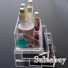 Load image into Gallery viewer, Acrylic Jewellery & Cosmetic clear Organizer Drawers Cabinet box