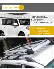 Load image into Gallery viewer, 140*100 Sliver Aluminium AlloySUV 4x4 RoofRack Basket Cargo Luggage Carrier Box