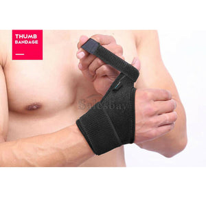 Thumb Wrist Support Wrap Strap Compression Hand Brace Protector Carpal Tunnel LR