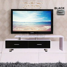 Load image into Gallery viewer, Wooden TV Stand Entertainment Unit Upto 160CM Cabinet Plasma LCD LED Black/White