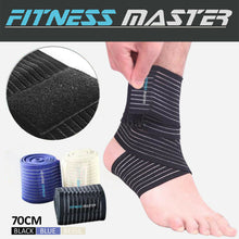 Load image into Gallery viewer, High Elastic Elbow Wrist Ankle Support Wrap Strap Brace Bandage Compression