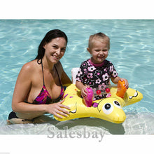 Load image into Gallery viewer, 2 x Airtime Inflatable Inflate Pool Toy Baby Seat Star Design 78cm x 75cm x29cm