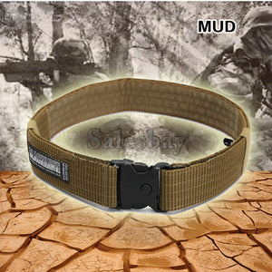 Hunting Tactical Survival Heavy Duty Belt Army Elite Military Belt Security