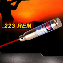 Load image into Gallery viewer, Hunting .22-.50 .308 .223 Laser Bore Sighter Cartridge Red Dot Sight Rifle