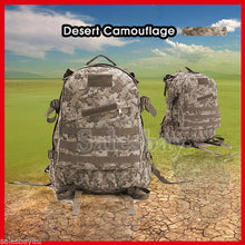 Load image into Gallery viewer, Hiking Utility 3D Outdoor MOLLE Military Tactical Rucksack Backpack Camping Bag