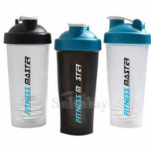 Load image into Gallery viewer, 5X GYM Protein Supplement Drink Blender Mixer Shaker Shake Ball Bottle Cup 700ml