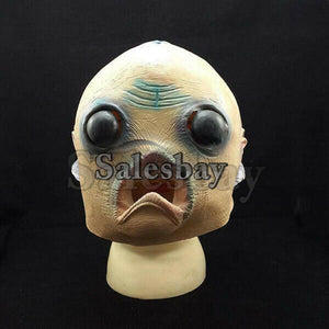 Halloween Costume Theater Latex Mask Creepy Dog Horse Head Mask Animal Party Toy