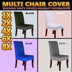 Seat Covers Stretchy Kitchen Dining Chair Cover Restaurant Wedding Part Decor
