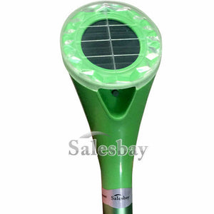 6X 100% Waterproof Aluminium Frequency Snake Repeller Ultrasonic Rat Pest Solar