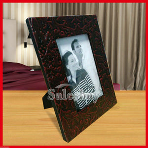 "6 x Leather Bound Photo Frame 4""x6"" Wholesale Bulk Lots"