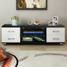 Load image into Gallery viewer, Wooden TV Stand Entertainment Side Cabinet Unit Storage Drawers 120cm